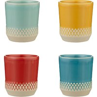 LEON Espresso Mugs, Assorted, Set of 4, 80ml