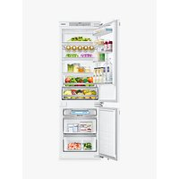 Samsung BRB260130WW/EU Integrated Fridge Freezer, A+ Energy Rating, 54cm Wide, White Gloss