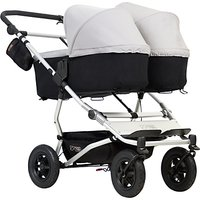 Mountain Buggy Duet V3 Carrycot, Silver