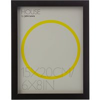 House by John Lewis MDF Wrap Photo Frame, 6 x 8 (15 x 20cm)