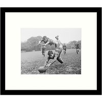 Getty Images Gallery - It's A Try Framed Print, 49 x 57cm