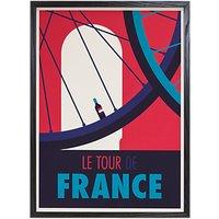 Spencer Wilson - Le Tour De France Framed Print, 73 x 53cm