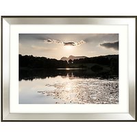 Mike Shepherd - Glistening Waters Framed Print, 91 x 71cm