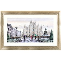 Richard Macneil - Milan Cathedral Framed Print, 112 x 72cm