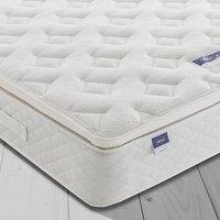 Silentnight Sleep Soundly Miracoil Pillow Top Mattress, Medium, Double