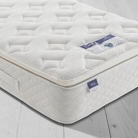 Silentnight Sleep Soundly Miracoil Pillow Top Mattress, Medium, Single