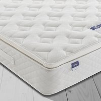 Silentnight Sleep Soundly Miracoil Pillow Top Mattress, Medium, King Size