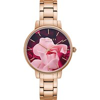 Ted Baker TE50005001 Women's Bracelet Strap Watch, Rose Gold/Multi