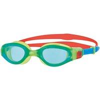 Zoggs Phantom Elite Junior Swimming Goggles, Blue/Green