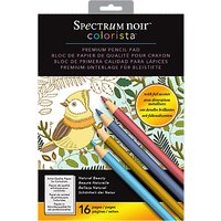Spectrum Noir Colorista Natural Beauty Colouring A4 Pad
