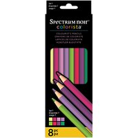 Spectrum Noir Colorista Pencils Set 1, Pack of 8