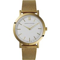 Larsson & Jennings Womens Lugano Bracelet Strap Watch