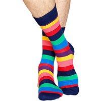 Happy Socks Stripe Socks, One Size, Bright
