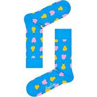 Happy Socks Fruit Print Socks, One Size, Blue
