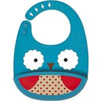 Skip Hop Zoo Silicone Owl Bib