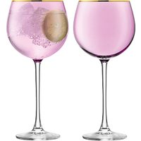LSA International Sorbet Wine Glass, Set of 2, 525ml