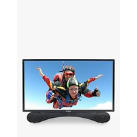 Linsar X24DVDMK2 LED Full HD 1080p TV/DVD Combi, 24 with Freeview HD, Black