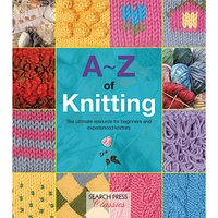 Search Press A-Z of Knitting Book