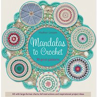 Search Press Mandalas To Crochet Book by Haafner Linsenn