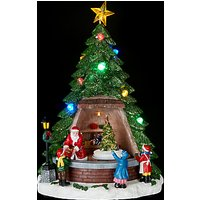 John Lewis Santas Tree Shop LED Table Centre