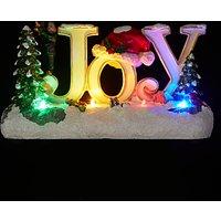 John Lewis LED Joy Christmas Ornament