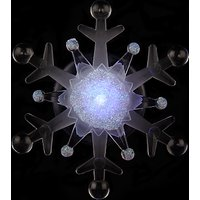 John Lewis LED Morphing Snowflake Christmas Light