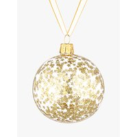 John Lewis Into the Woods Sequin Star Bauble