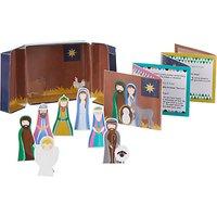 John Lewis Little Nativity Play Set