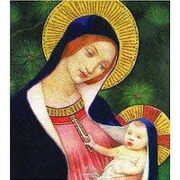 Woodmansterne Madonna With Child Charity Christmas Cards, Pack of 5