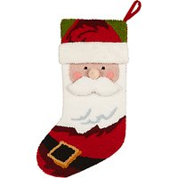 John Lewis Lima Llama Santa Head Stocking, Multi
