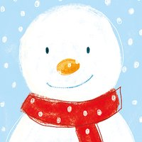 Museums and Galleries Snowman Charity Christmas Cards, Pack of 8