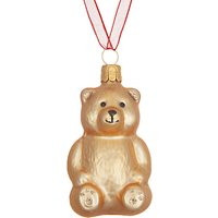 John Lewis Folklore Teddy Bear Tree Decoration