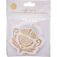 John Lewis Highland Myths Thistle Gift Tags, Pack of 4