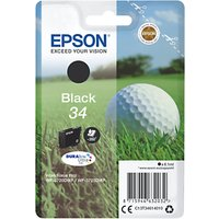 Epson Golfball T3461 Inkjet Printer Cartridge, Black