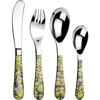 Arthur Price Sea of Minions Childrens Cutlery Set, 4 Piece