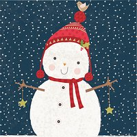 The Almanac Gallery Bobble Hat Charity Christmas Cards, Pack of 8