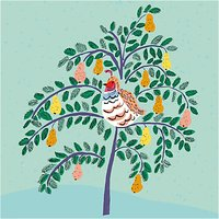Almanac In a Pear Tree Charity Christmas Cards, Pack of 8