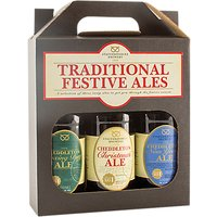 Staffordshire Brewery Festive Ale Selection, 3x 500ml