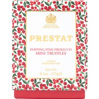 Prestat Popping Pink Prosecco White Chocolate Truffles, 175g