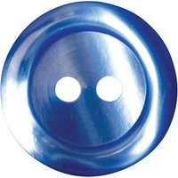 Groves Rimmed Button, 17mm, Pack of 4