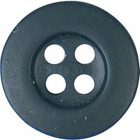 Groves Rimmed Button, 12mm, Pack of Five
