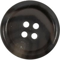 Groves Rimmed Button, 20mm, Pack of 3
