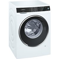 Siemens WM4UH640GB Freestanding Washing Machine, 9kg Load, A+++ Energy Rating, 1400rpm Spin, White
