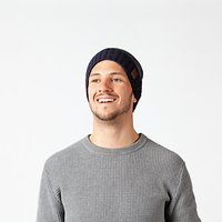 shop for Barts David Beanie, One Size, Navy at Shopo
