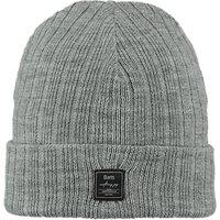 Barts Parker Beanie Hat, One Size, Grey