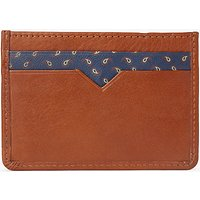John Lewis Paisley Leather Card Holder