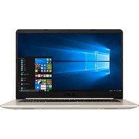 ASUS Vivobook S510 Laptop, Intel Core i7, 8GB RAM, 256GB SSD, 15.6, Metal Gold