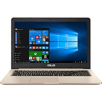 ASUS VivoBook Pro N580 Laptop, Intel Core i7, 8GB RAM, 1TB HDD + 128GB SSD, 15.6 Full HD, Metallic