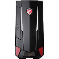MSI Nightblade MI3 Gaming Desktop, Intel Core i5, Optane 16GB RAM, 2TB, NVDIA GeForce GTX 1050ti, Black
