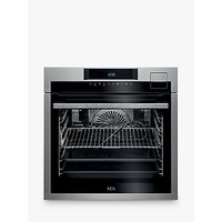 AEG BSE792320M Single Oven with Steam, Stainless Steel